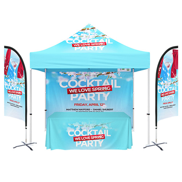 10'x10' Custom Tent Packages #5