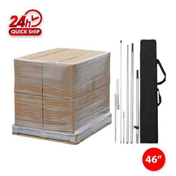 250pcs 12' Pole kits with Ground Stake/ 48'' x 48'' x 48'' / 1020lbs/1 Pallet