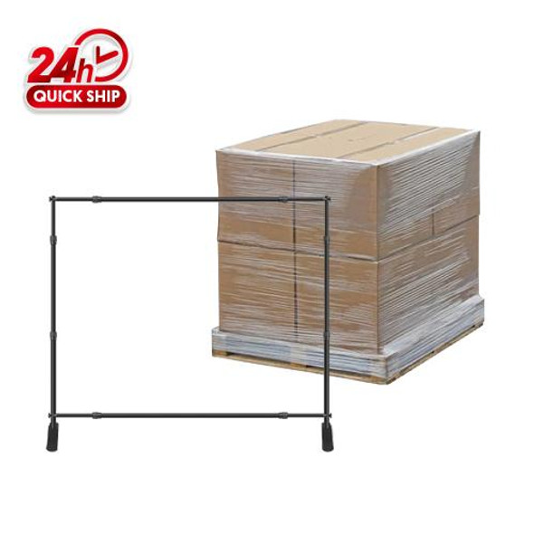 50pcs 10'x8' Step and Repeated / 48'' x 63'' x 48'' / 700lbs/1 Pallet