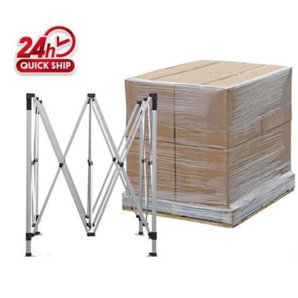16pcs 10' x 10' Premium Aluminum Frame (Silver) /48'' x63'' x 63'' /600lbs