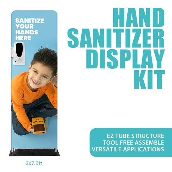 HAND SANITIZER TUBE KITS 3'x 7.5'