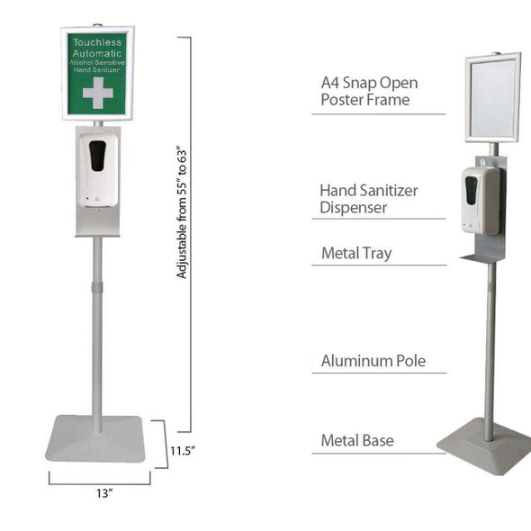 Adjustable Auto Dispenser Stand Kit