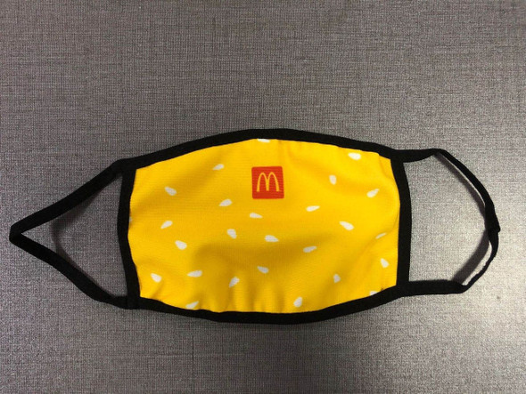 CUSTOM PRINTED MASKS WITH FILTER(Dye-Sublimated)