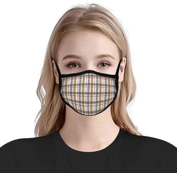 Custom Printed Mask With Adjustable Ear Loop (Dye-Sublimated)