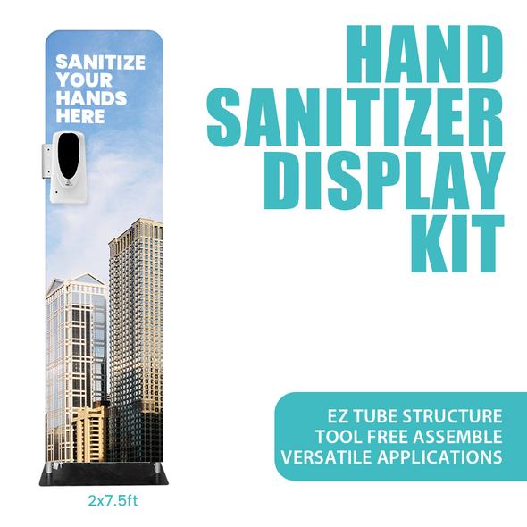 HAND SANITIZER TUBE KITS 2'x 7.5'