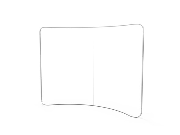 10ft Curve Tension Fabric Display