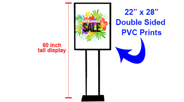 """22"""" x 28"""" Poster Stand"""
