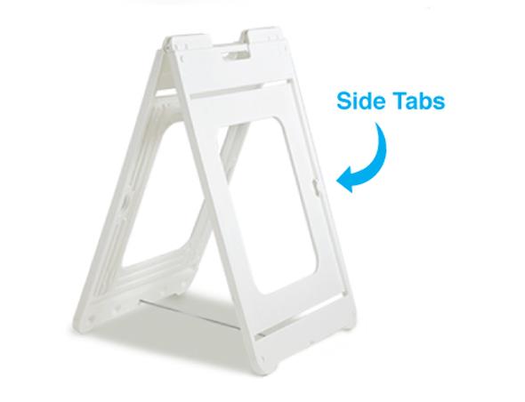 White Simposign A-Frame