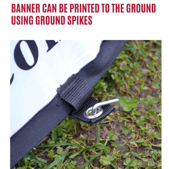 Horizontal Pop Out Banner