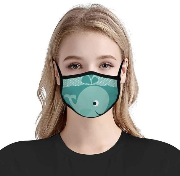 Custom Printed Masks (Dye-Sublimated) Elastic Ear Loop