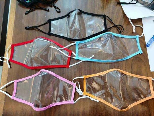TPU 3D Visible Face Mask