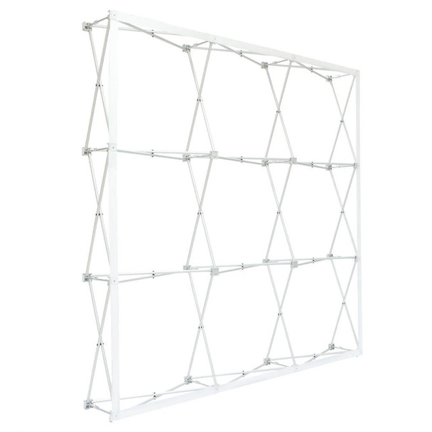 8ft Straight Velcro Fabric Pop Up Display