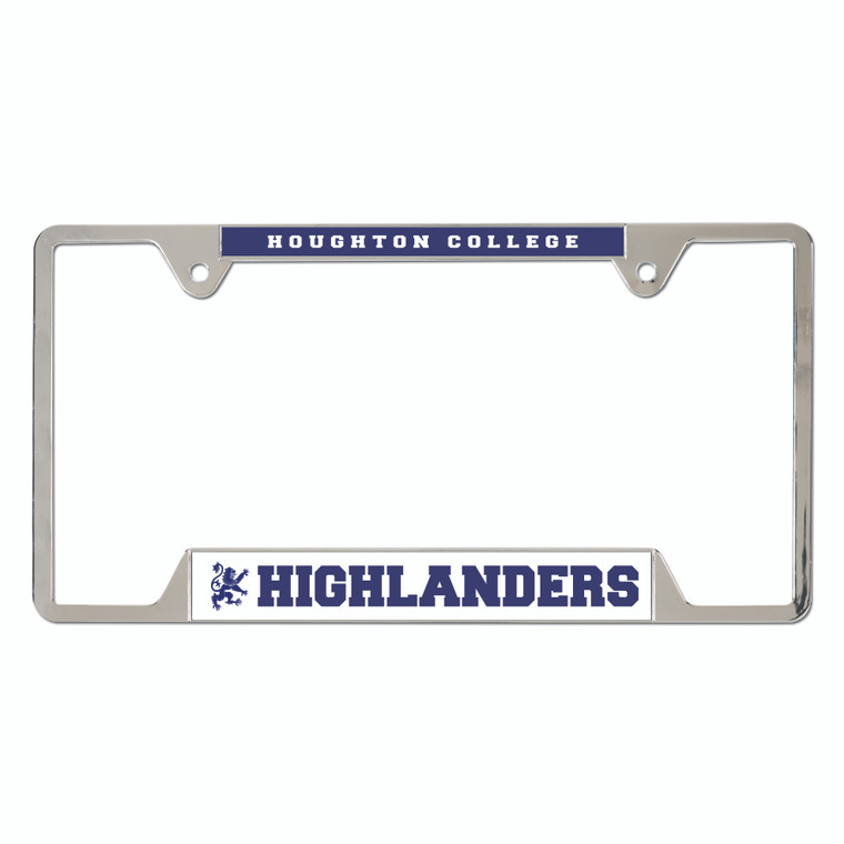 Houghton College Highlanders License Plate