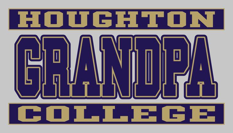 Houghton College Grandpa Decal