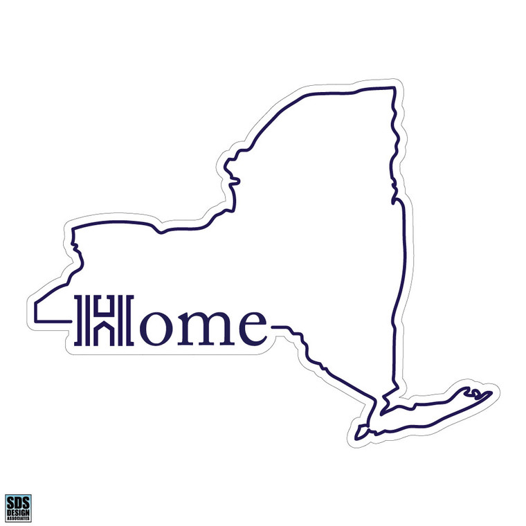 Houghton College New York State Home Decal