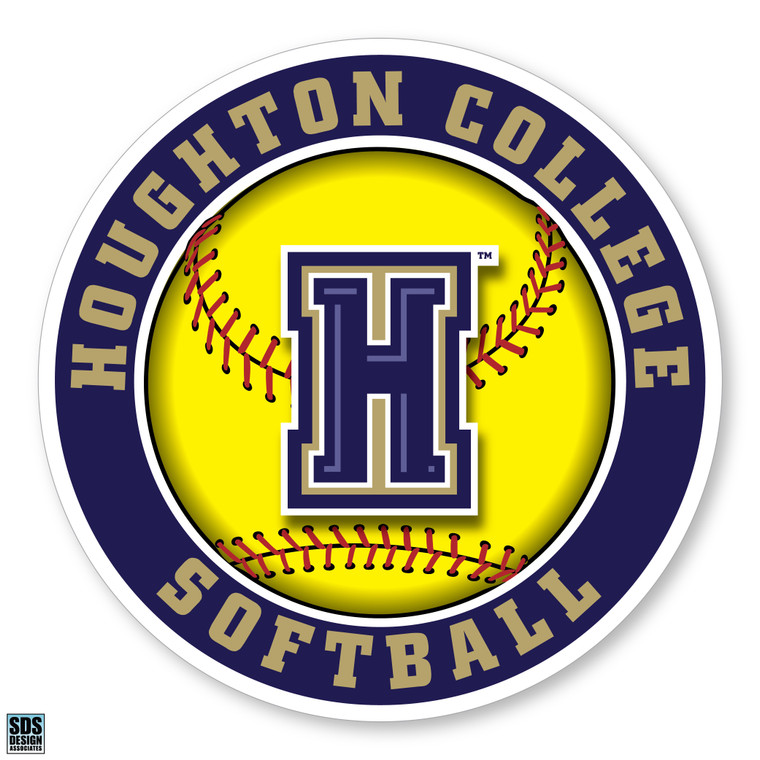 Houghton College Softball Decal