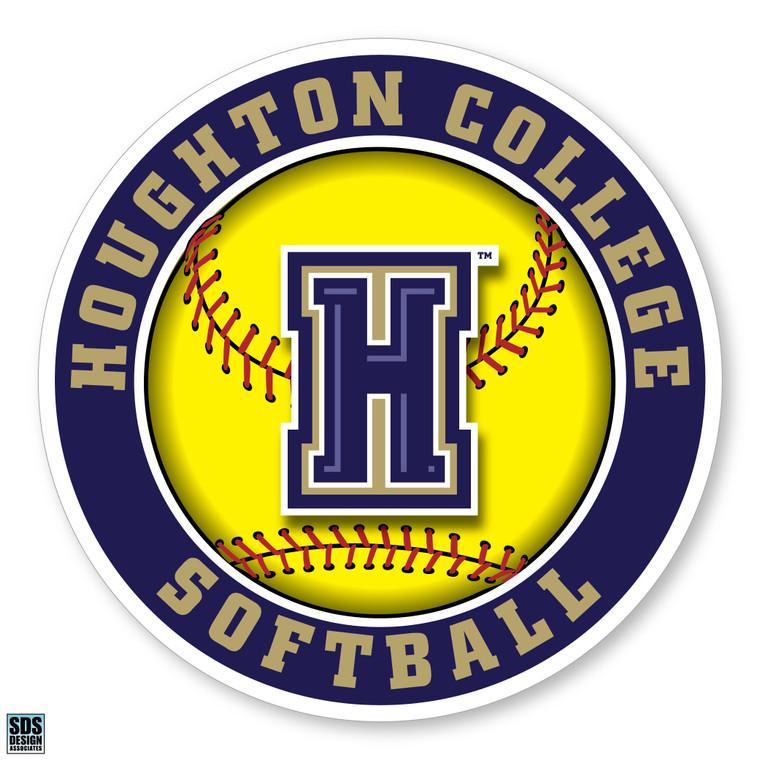 Houghton College Softball Decal