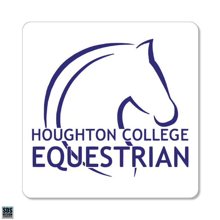 Houghton Equestrian Decal with Horse Head