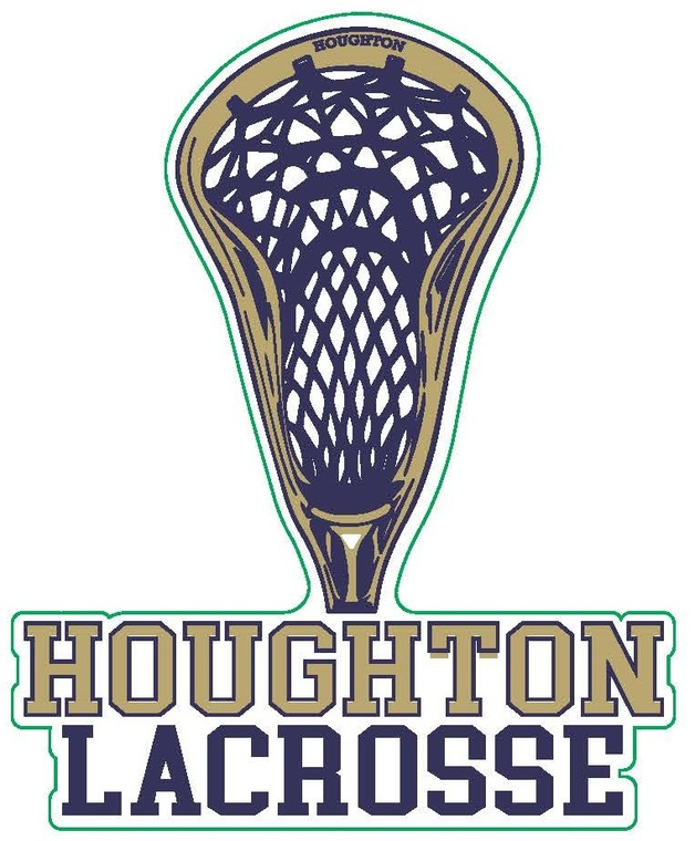 Houghton Men's Lacrosse Decal