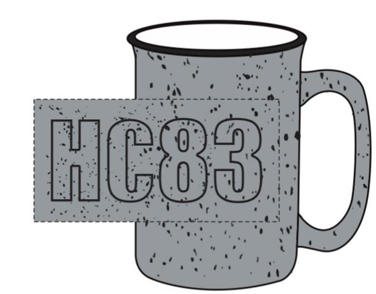 HC83 Campfire Ceramic Mug