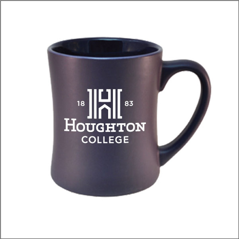Houghton College Matte Mug with Etched H Logo