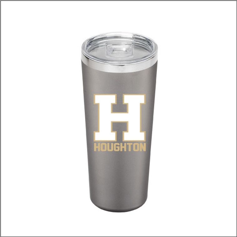 Houghton Vacuum Insulated Travel Tumbler with Straw