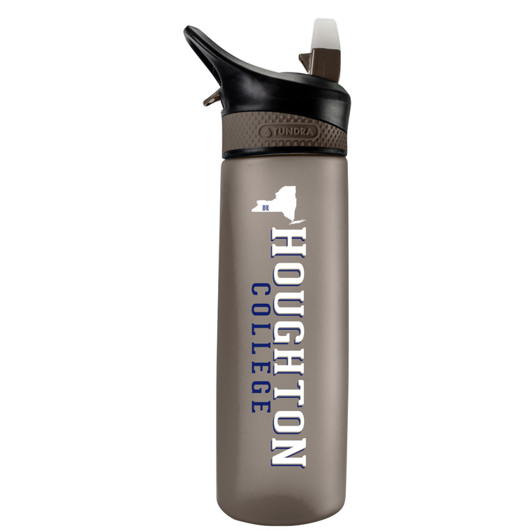 Houghton College Frosted Sports Bottle