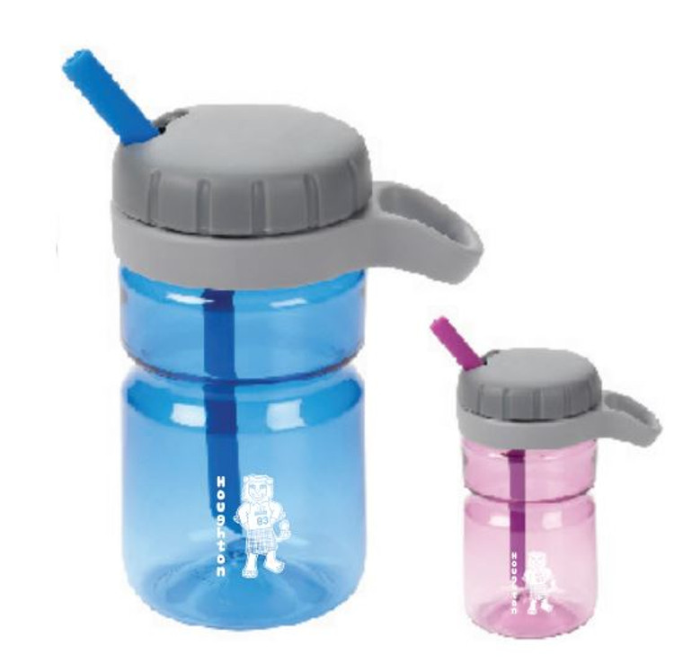 Houghton Kids Water Bottle with Mascot