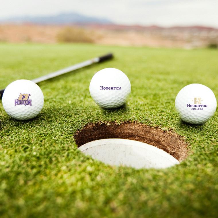 Houghton Golf Balls  Set of 3