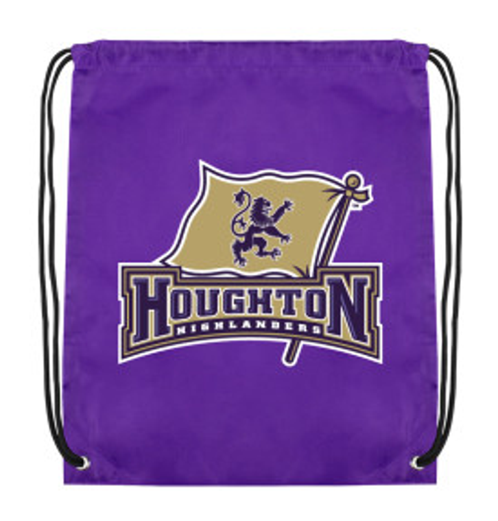 Houghton Highlanders Drawstring Backpack