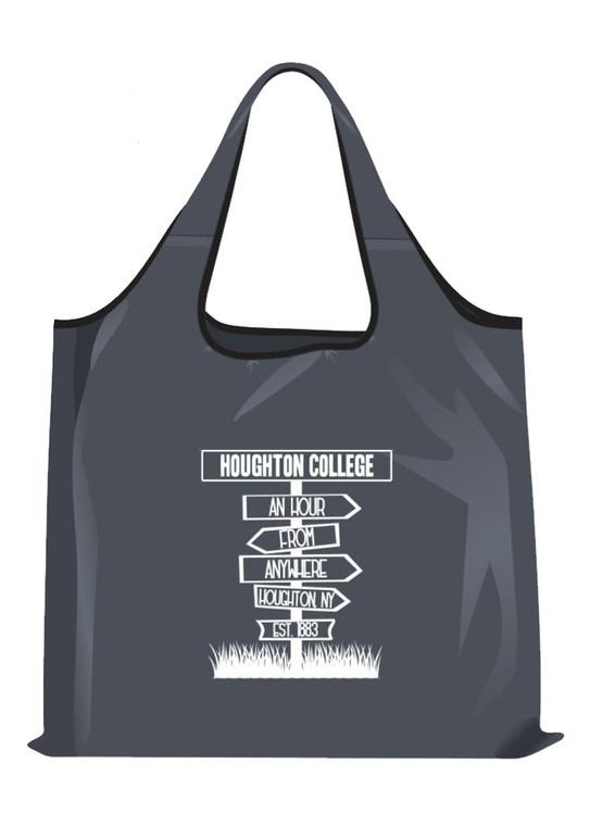 Houghton College Foldaway Reusable Bag