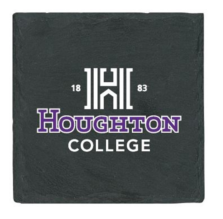Houghton College Slate Coaster