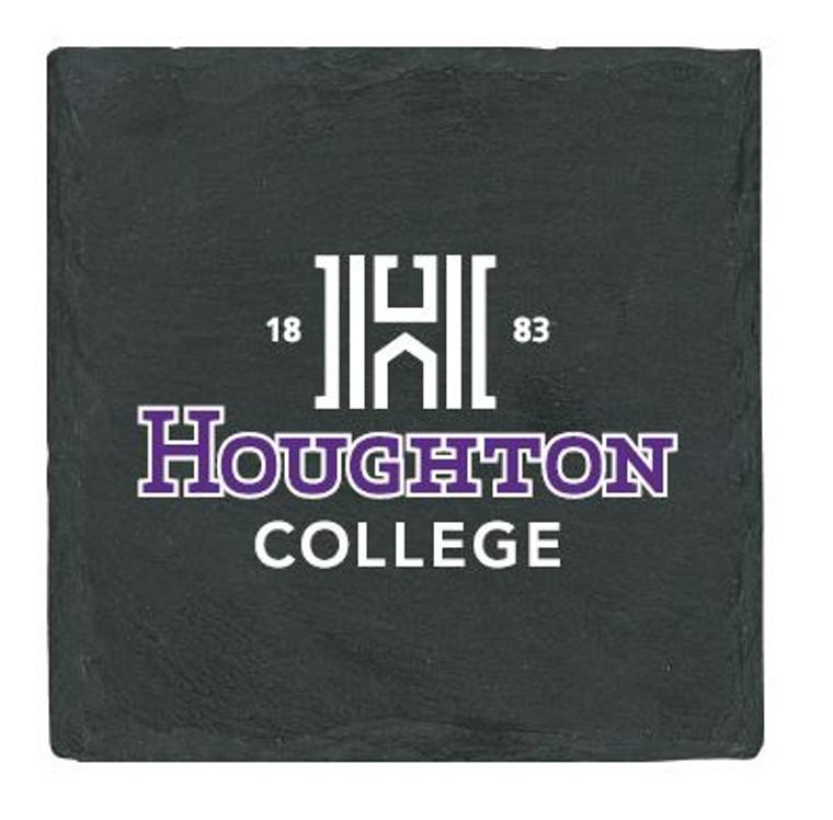 Houghton College Slate Coaster