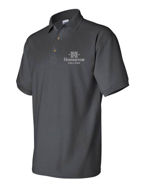 Houghton College Polo with H Logo