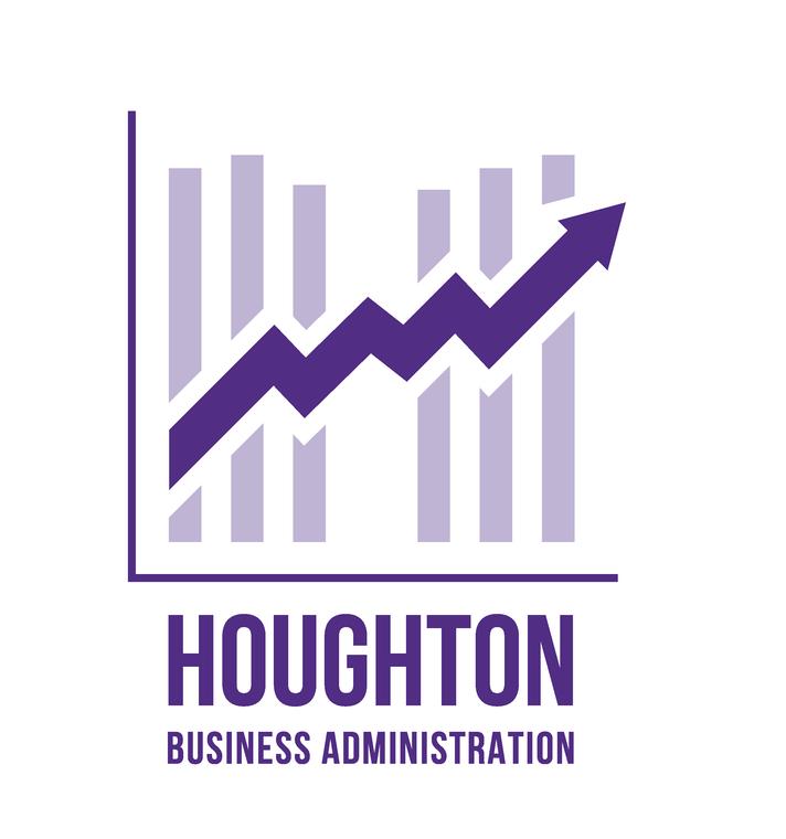 Houghton Business Major Tee