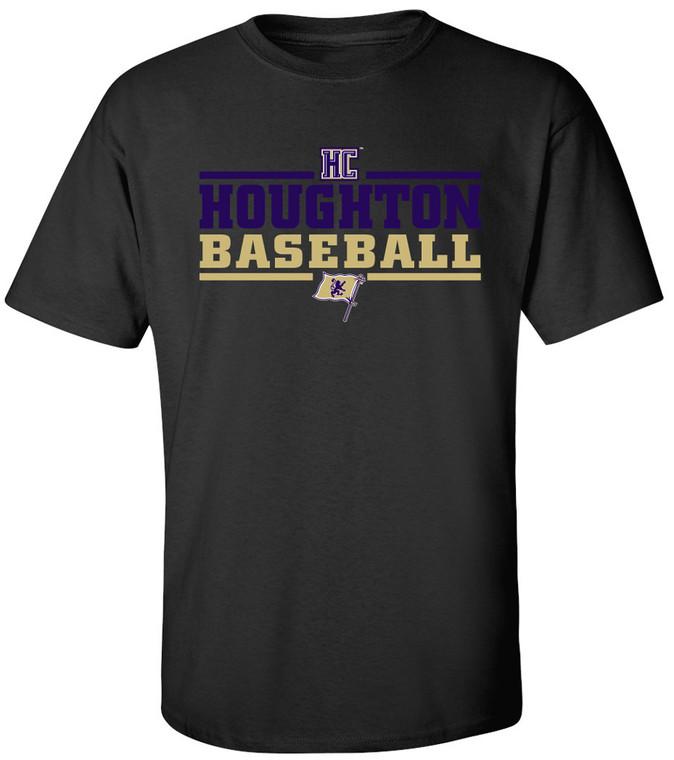 Houghton College Baseball Tee