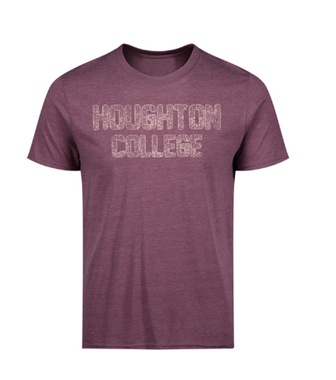Houghton College Tri-Blend Short Sleeve Tee