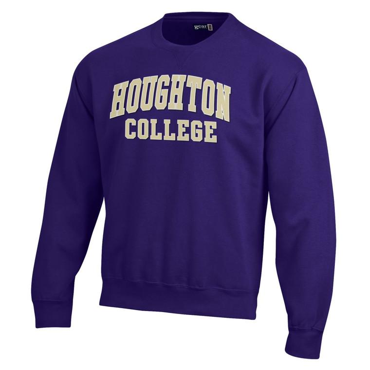 Houghton College Big Cotton Tumbled Crew