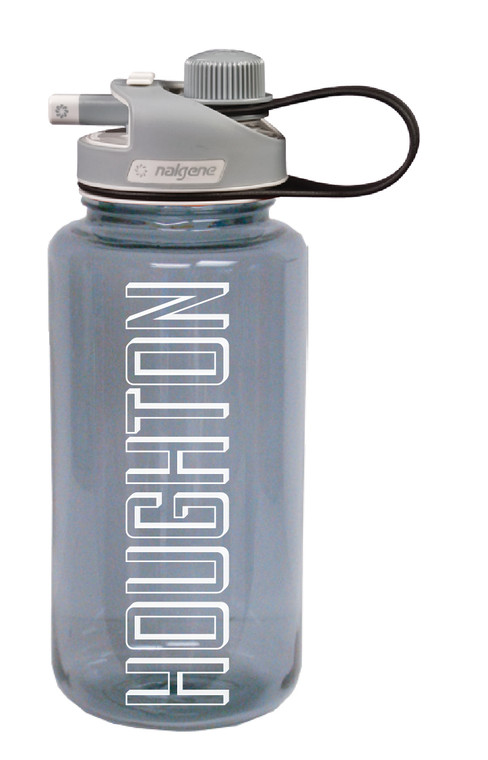Houghton College Wide Mouth Nalgene w/ Multi-Drink Lid