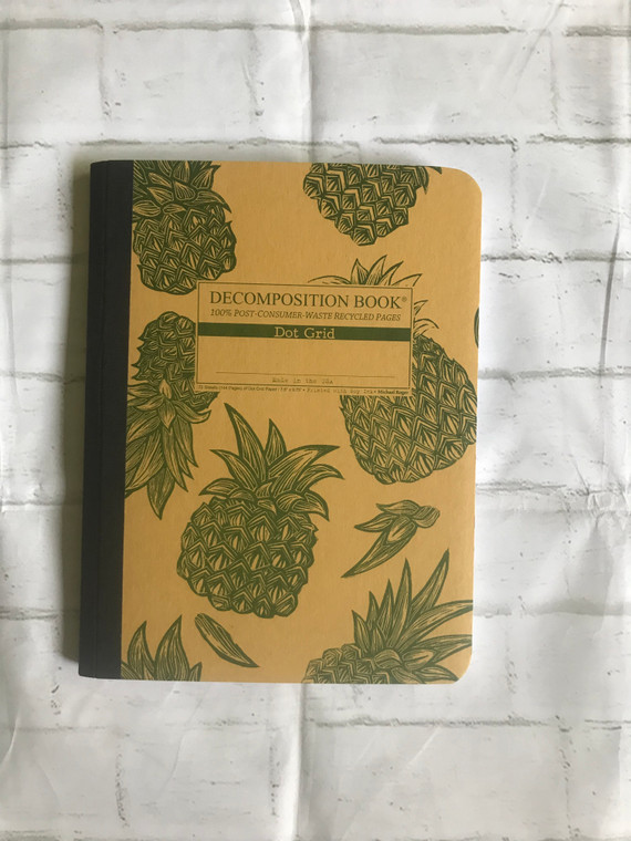Pineapples Decomposition Book