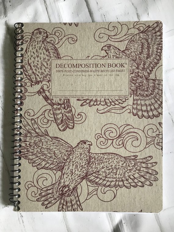 Goshawks Spiral Decomposition Book