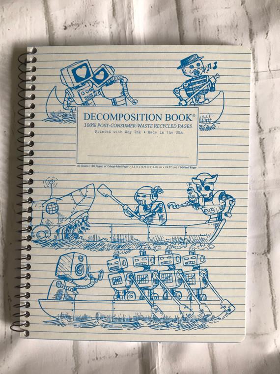 Rowbots Spiral Decomposition Book