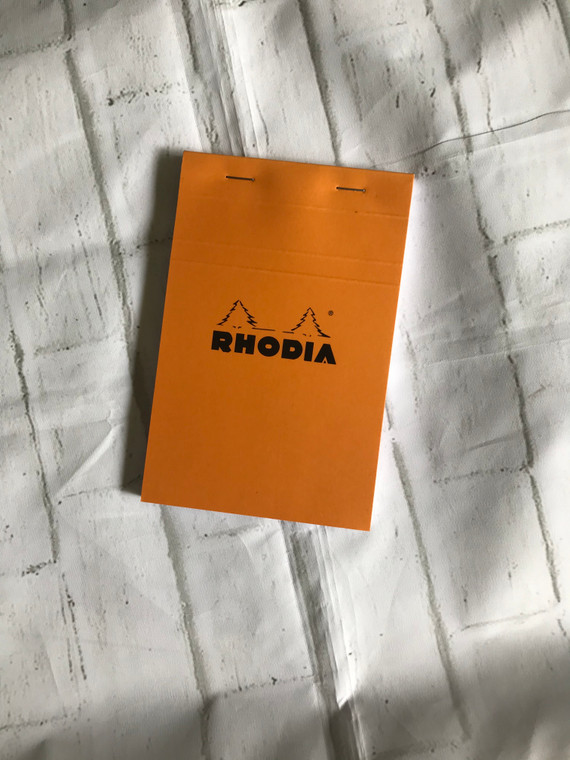 """Rhodia Notepad with Graph Paper 5x5,  3-3/8"""" x 4-3/4"""""""