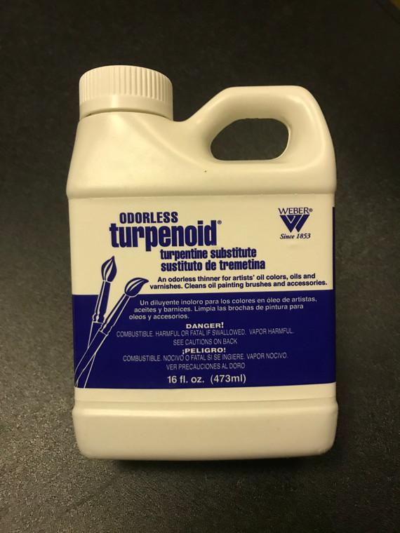 Weber Odorless Turpenoid, 16 fl oz  Bottle