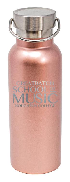 Houghton Greatbatch School of  Music Vacuum Insulated Water Bottle