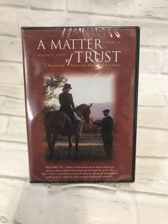 A Matter of Trust by Walter Zettl - Volume IV DVD