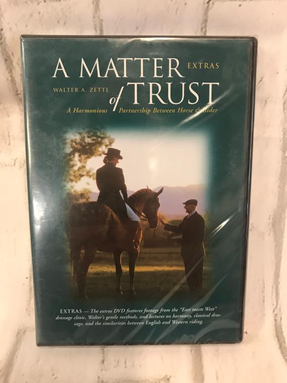 A Matter of Trust - Extras by Walter Zettl  DVD