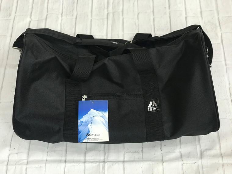 Black Gear Duffel Bag
