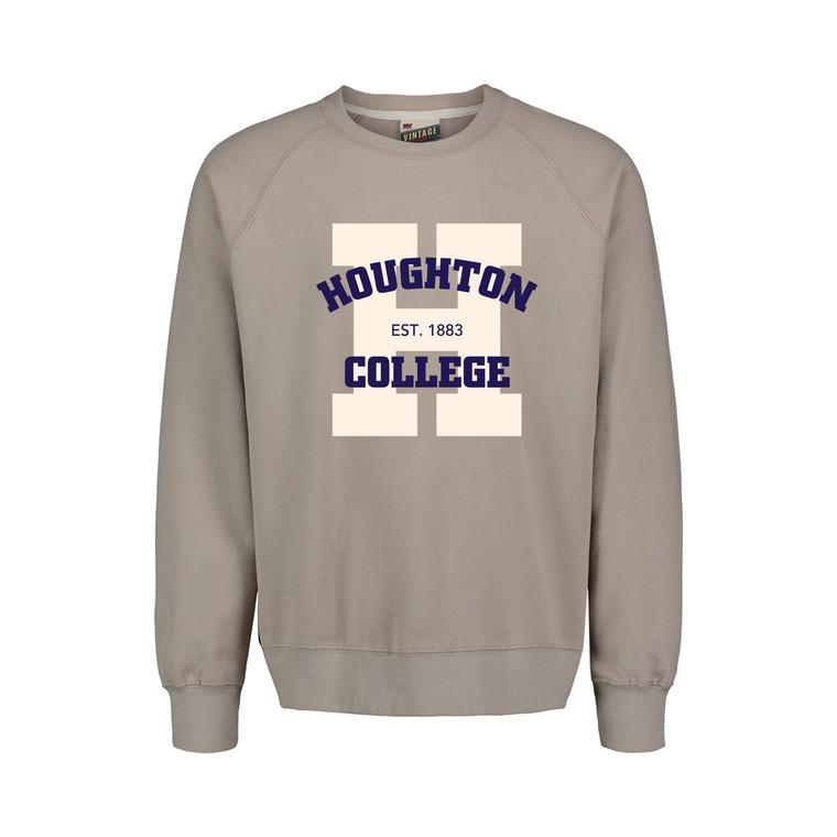 Vintage Fleece atmosphere gray Houghton sweatshirt