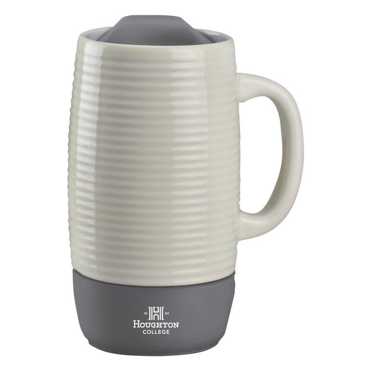 Houghton Ceramic and Silicone Mug